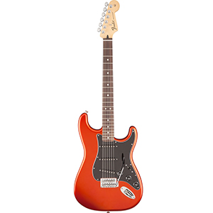 Fender Standard Stratocaster Satin Flame Orange [0140130576]