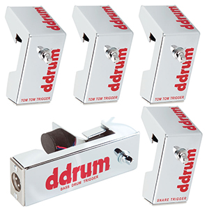 Ddrums Chrome Elite Trigger Pack [CETKIT]