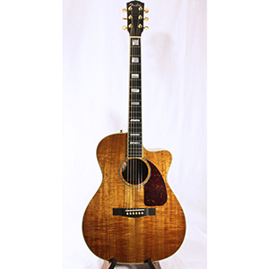 Pro Custom Shop Classic Koa Auditorium Cutaway