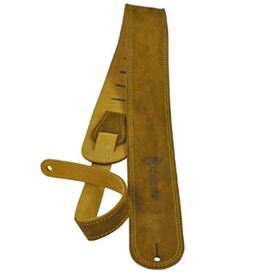 Martin Ball Leather Suede guitar strap - Distressed