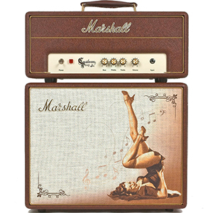 Marshall Custom Shop C110 Greta Pinup [M-CS110BB1-E]