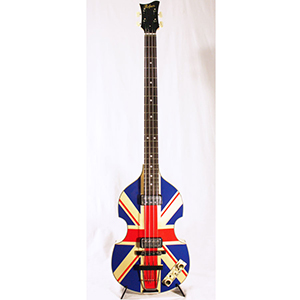 Hofner 2012 Diamond Jubilee Violin Bass - Union Jack 45 of 60 [H500/1 UK]