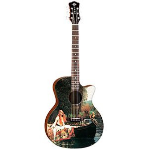Luna Guitars Gypsy Lady Of Shalott [GYP LOS]