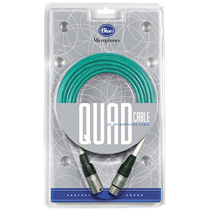 Blue Quad Microphone Cable [00754511]