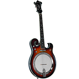 Gold Tone EBM-4 Electric Tenor Banjo [EBM4]