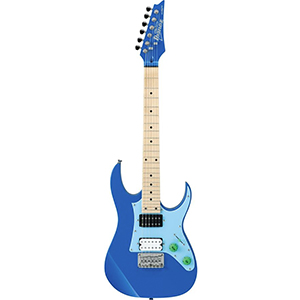 Ibanez GRGM21MCT Mikro Blue w Light Blue Pickgaurd [GRGM21MCTLTB]