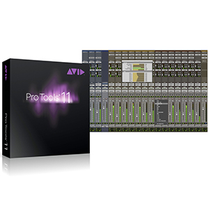 Avid Pro Tools 11 Boxed Version with DVDs [9906545000]