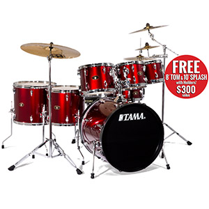 Tama IS62C Imperialstar - Vintage Red [IS62CVTR]