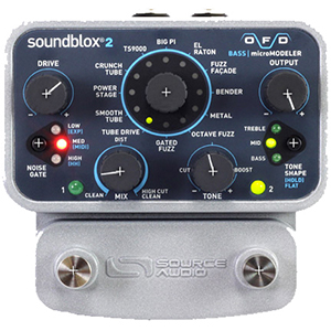Source Audio Soundblox2 OFD Bass microModeler [SA228]