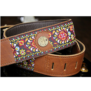 Copper Peace Gypsy Leather Guitar Strap [CP-GYPGT2]