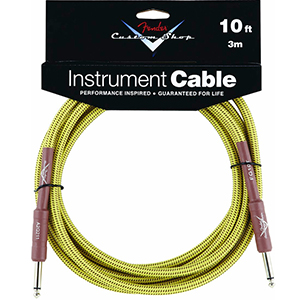 Fender Custom Shop Performance Series Cable 10 Ft. [0990820028]