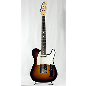 American Standard Telecaster - 3-Color Sunburst with Case - Rosewood Blemished