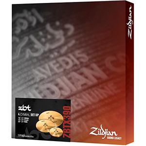 Zildjian ZBT 4 Box Set [ZBTX390]