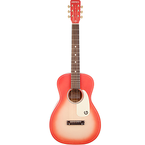 G9515 Jim Dandy Flat Top Coral Sunburst