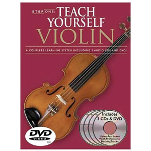 Step One Teach Yourself Violin [42995]