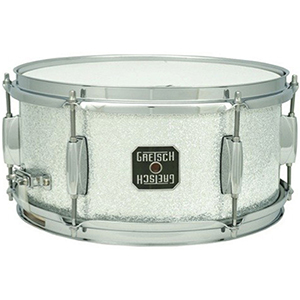 Gretsch Drums Mahogany 6x10 Snare - Silver Sparkle
