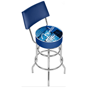 Fender Stacked Lounge 30-inch Barstool with Back [9188890506]