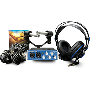 Presonus AudioBox Stereo Bundle [AUDIOBOXSTEREO]