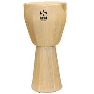 Sarga Percussion Cajon Djembe - Medium Natural