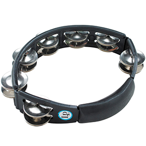 LP Cyclops Jingle Tambourine Black