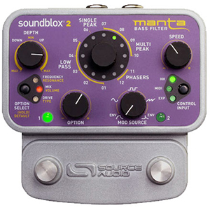 Source Audio Soundblox 2 Manta Bass Filter [SA223]