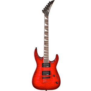 Jackson JS32TQ Dinky Transparent Red [2910127590]