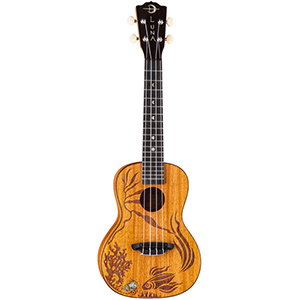 Luna Guitars Uke Coral [UKE_CORAL]