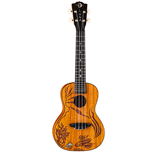 Luna Guitars Coral Ukulele