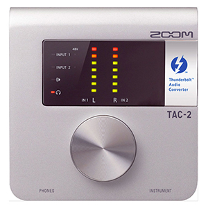 Zoom TAC-2 Thunderbolt Audio Interface [TAC2]