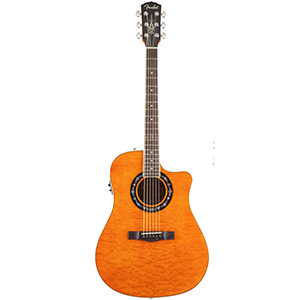 Fender T-Bucket 300 CE - Amber Quilt Maple