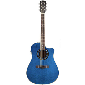 Fender T-Bucket 300 CE - Transparent Blue