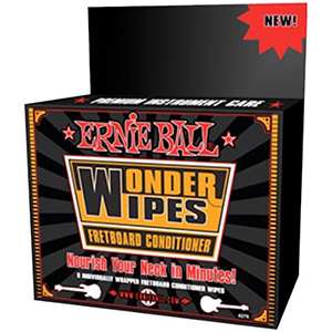 Ernie Ball Wonder Wipes Fretboard Conditioner [PO4276]