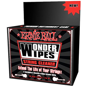 Ernie Ball Wonder Wipes String Cleaner [PO4277]
