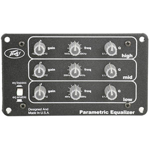Peavey 3-Band Parametric EQ Expansion Module [03052700]