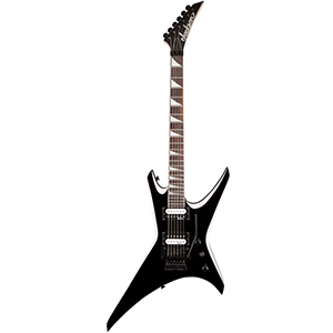 Jackson JS32 Warrior Black with White Bevels [2910135572]