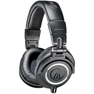 Audio Technica ATH-M50x Black [ATH-M50X]