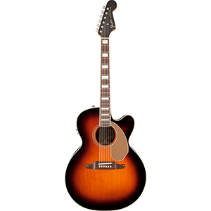 Fender Kingman Jumbo SCE 3-Color Sunburst [0968621032]