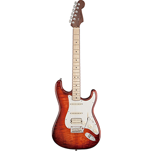 Select Stratocaster HSS Exotic Maple Flame