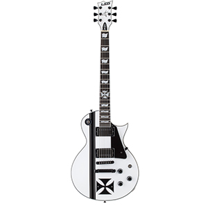 ESP LTD Iron Cross Snow White [LTD James Hetfield Iron Cross]