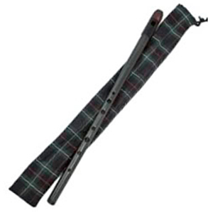 Carbony Celtic Winds Great Highland Whistle in Bb