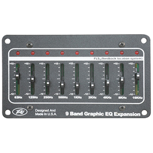 Peavey 9-Band Graphic EQ Expansion Module [03052760]