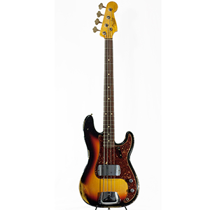 1964 Heavy Relic Precision Bass 3-Color Sunburst