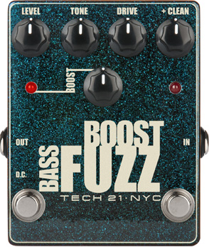 Tech21 Bass Boost Fuzz Metallic