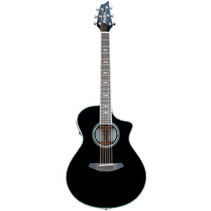 Breedlove Stage Black Magic Concert Guitar [STAGE CONCERT BLK MG]