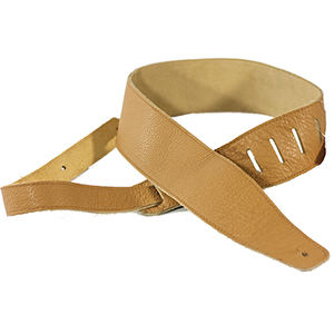 Henry Heller Basic Leather Guitar Strap Camel [HPEB25-CAM]