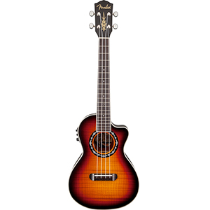 Fender T-Bucket Tenor Ukulele 3-Color Sunburst