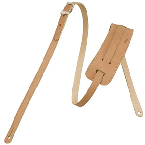Fender Deluxe Vintage Strap - Natural Leather [0990664021]