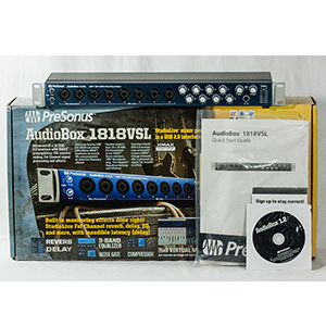 Presonus AudioBox 1818VSL Open Box [AUDIOBOX1818VSL OB]