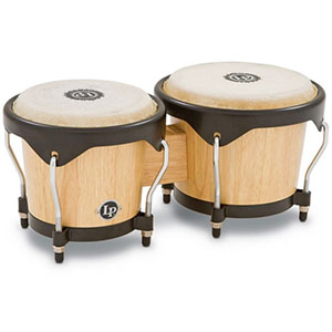 LP LP601NY-AW Natural Wood Bongos