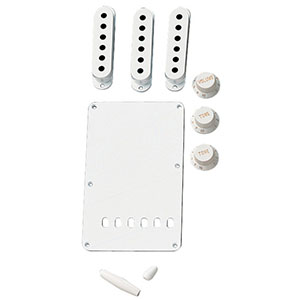 Fender Vintage-Style Stratocaster Accessory Kits White